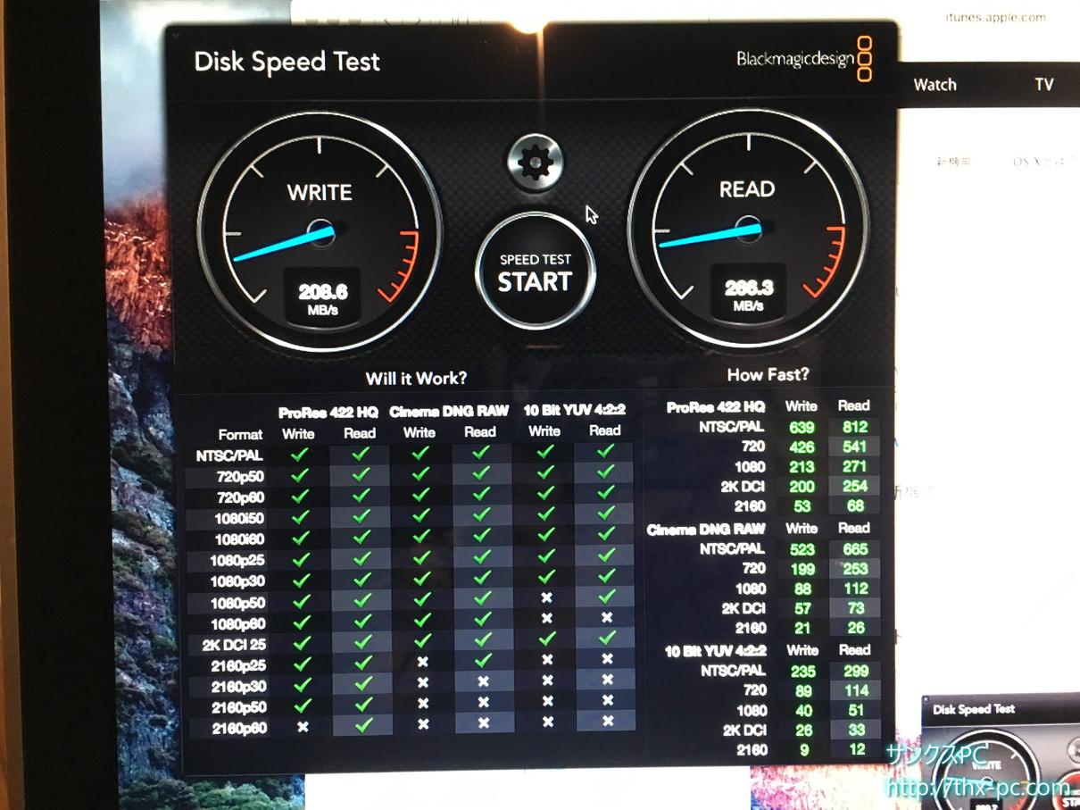 elcapitan SSD速度