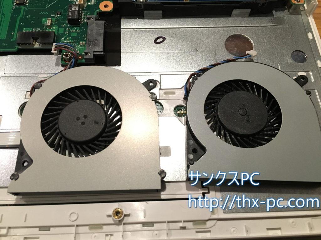 CPUファン交換