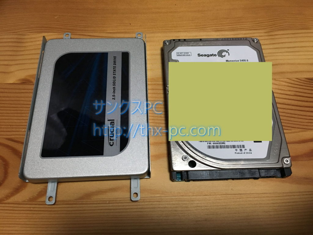 VPCEB18FJ SSD換装